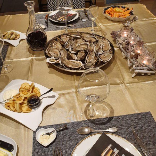 huitres de paimpol et fruits de mer aux Centauris